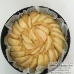torta di mele da infornare