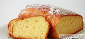 plum cake con arancia e latte di mandorla