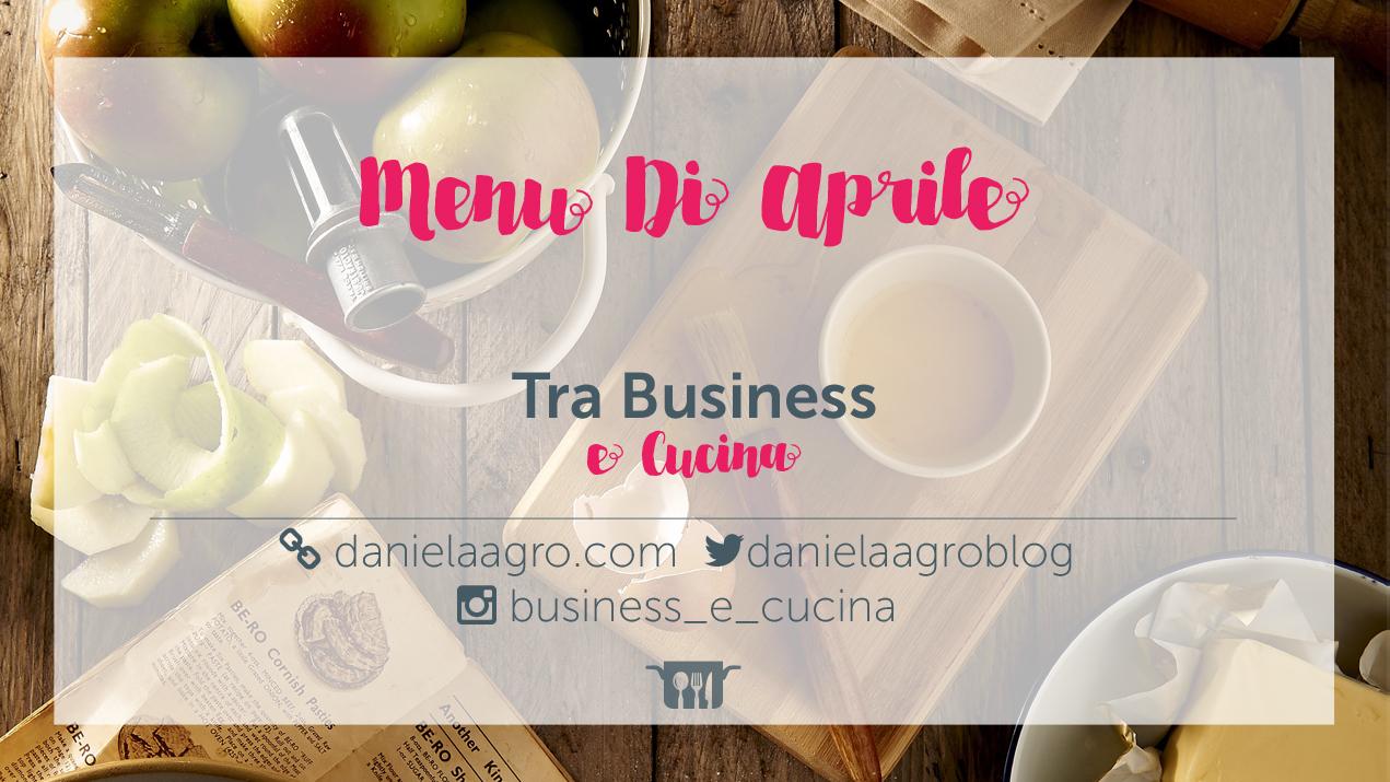 menu di aprile 2016
