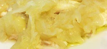 merluzzo con cipolle