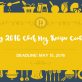 May 2016 Chef Meg Recipe Contest