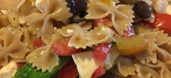 insalata di pasta caprese