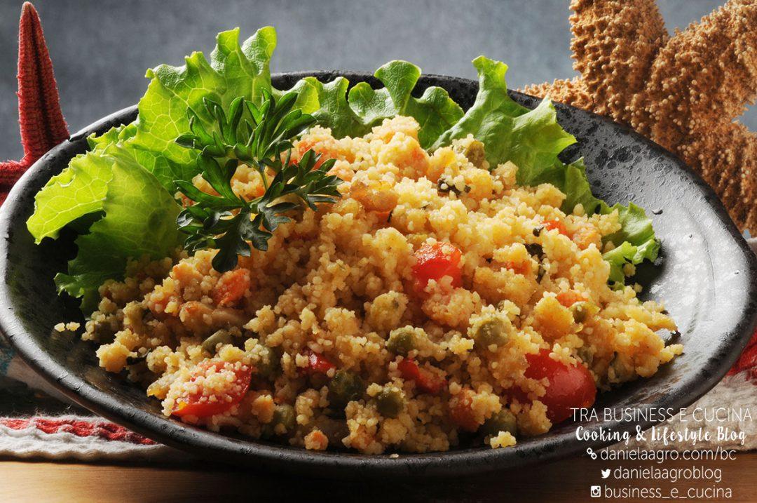 Couscous semintegrale alle verdure
