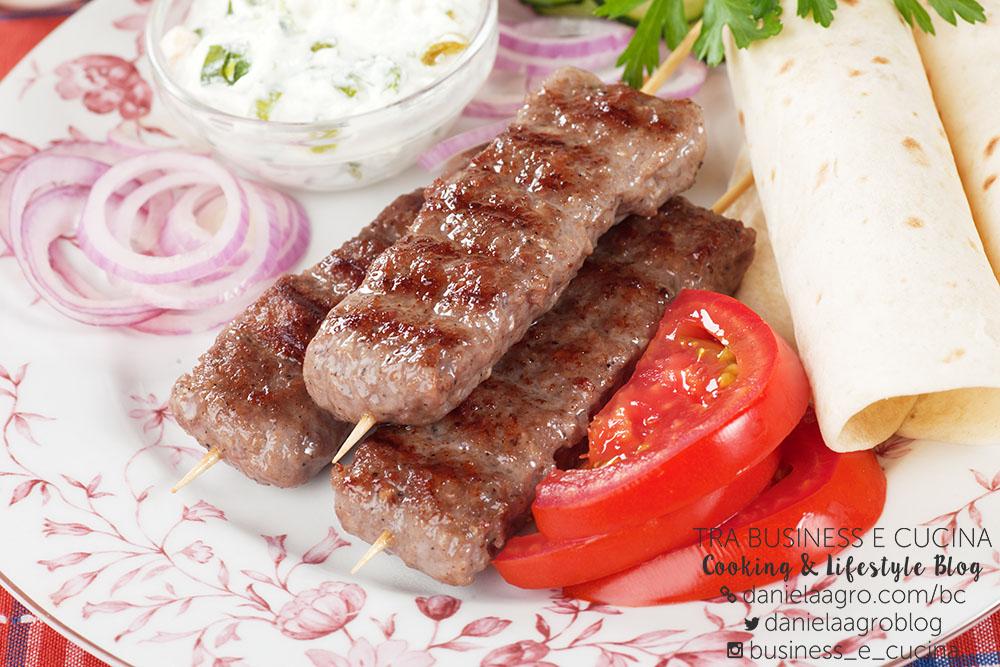 Involtini di carne e peperoni arrostiti